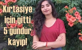 Kayıp kız Zehra Dursun'dan 6 gündür haber alınamıyor