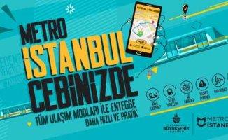 Metro ile daha kolay ulaşım için mobil uygulama