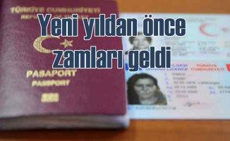 Trafik cezaları, ile pasaport, ehliyet harcına zam