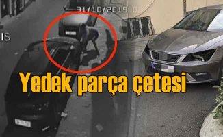 Yedek parça hırsızlığı çetesi vatandaşları perişan etti