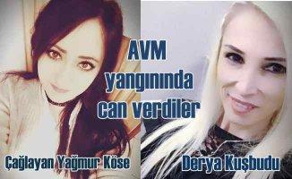 Amasya Merzifon'da AVM'de yangın, 2 kişi can verdi