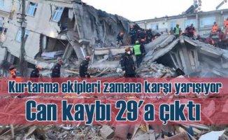 Elazığ ve Malatya'da zamana karşı yarış | Ekipler mucize için ter döküyor