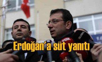 İmamoğlu'ndan Erdoğan'a süt yanıtı | Veren el alan eli görmeyecek