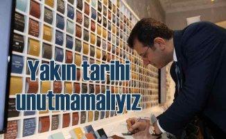 İmamoğlu'ndan Hrant Dink'e 'Her şey çok güzel olacak' mesajı
