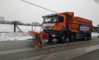 İstanbul'a kar uyarısı, Silivri ve Çatalca'ya beyaza büründü