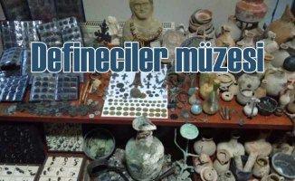 Kütahya'da defineci operasyonu | Kaçakçılar sanki müze kurmuş