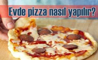 Pizzayı Evde Kendiniz Yapın!