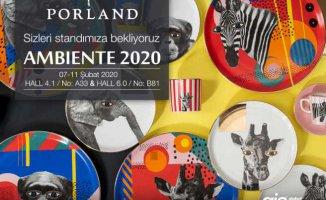 Porland Ambiente Fuarı'nda Türkiye'yi temsil edecek