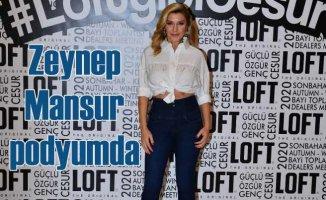 Şarkıcı Zeynep Mansur mankenlik tekliflerini geri çevirmiyor