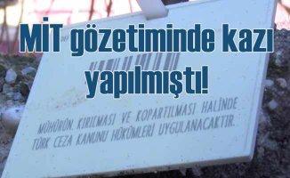 Tarsus'ta gizemli kazı evi meraklıların akınına uğradı