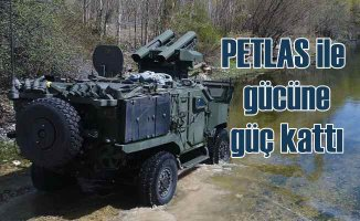 TSK'nın yeni zırhlı aracı PARS, PETLAS lastiklerle donatıldı