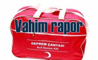 Türkiye'de evlerin yüze 71'inde deprem çantası bulunmuyor