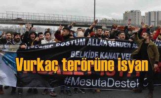 Vurkaç terörüne TEM'de isyan, 100 kişi otoyolu trafiğe kapattı