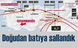 Akhisar, Antalya ve Pötürge'de deprem