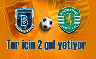 Başakşehir. Sporting Lizbon karşısında tutuldu, beklenen goller geldi