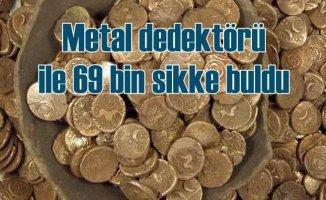 Dünyanın en büyük definesini basit bir metal dedektörle buldular