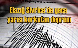 Elazığ Sivrice'de deprem | 4.7 ile sallandı