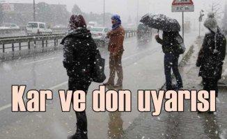 İstanbul'a beklenen kar geldi | Marmara için don uyarısı