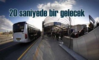 İstanbul'da metrobüs seferleri kış ayında artırıldı
