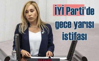 İYİ Parti'de gece yarısı gelen istifa | Tuba Vural Çokal istifa etti
