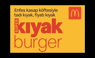 McDonald's'tan yeni menü: Süperkıyak Burger