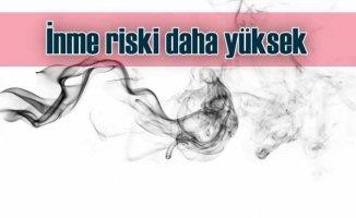 Sigara ve e-sigara içenlerde inme ve kalp krizi daha yüksek