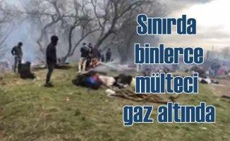 Sınırı 18 bin kişi geçti, Yunan ve Bulgar sınırında yığılma sürüyor