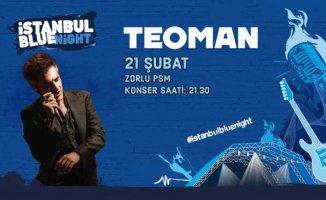Teoman 21 Şubat'ta PSM Zorlu'da sahne alıyor