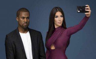 Türk düşmanı Kardashian kendi gelmiyor, mum heykeli geliyor