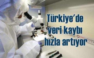Türkiye'de veri kaybı 8 yılda yüzde 400 arttı