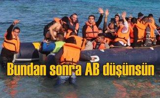 Türkiye mülteciler için Avrupa kapısını açtı