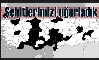 Türkiye şehitlerini uğurladı | 34 şehit için göz yaşları sel oldu