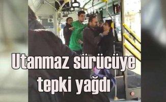 Utanmaz otobüs sürücüsü üstü kirli diye küçük çocuğu otobüsten attı