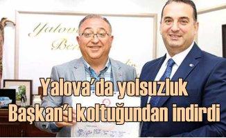 Yalova Belediye Başkanı Vefa salman görevden alındı
