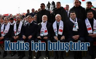 Yenikapı Kudüs mitingi muhalefeti birleştirdi