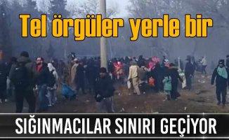 Yunan sınırında gerginlik sürüyor | Sığınmacılar karşıya geçti