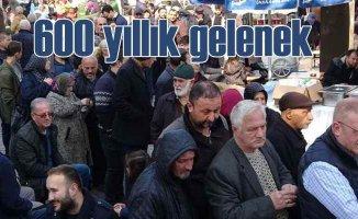 Bursa'da 600 yıllık gelenek yeniden canlandı