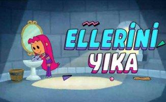 Cartoon Network'ün çocuklara mesajı Temiz Ol, Havalı ol!