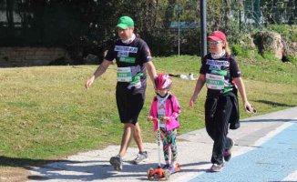Cerebral Palsy gönüllüleri Runatolia Maratonu'nda çocuklar için koştu