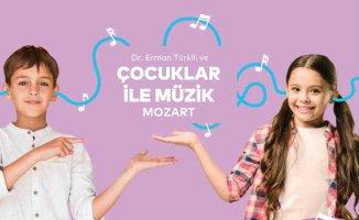 Çocuklar ile Müzik atölyesinin bu ayki konuk bestecisi Mozart