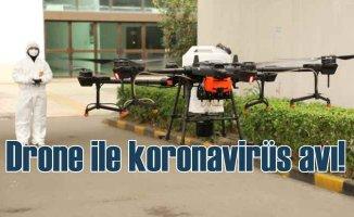 Dronlarla koronavirüs mücadelesinin 4 yolu