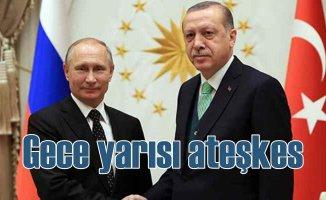 İdlib'te ateşkes | Erdoğan Putin zirvesi 6 saat sürdü