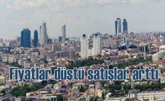 İstanbul'da konutta fiyatlar düştü satışlar arttı