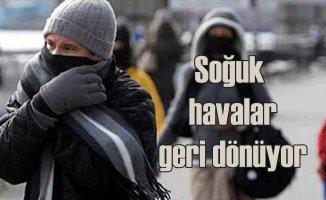 Marmara Bölgesi ve İstanbul için soğuk hava uyarı AKOM'dan geldi.