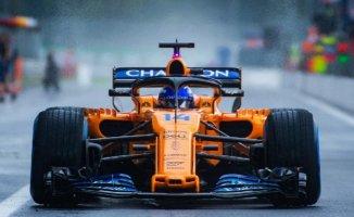 McLaren Formula 1 yarışından çekildi