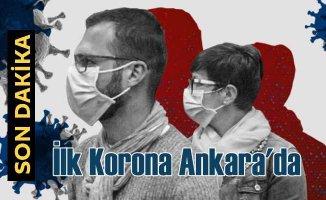 Sağlık Bakanlığı açıkladı | İlk koronavirüs Ankara'da | Tüm izinler kaldırıldı