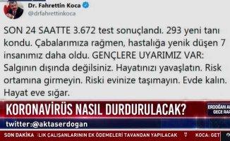 Son dakika koronavirüs | Covid-19'dan ölenlerin sayısı 37'ye yükseldi