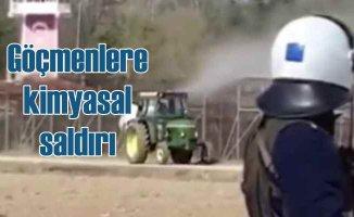 Yunan sınırında insanlık öldü | Göçmenlerin üzerine kimyasal saldırı