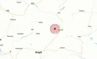 Bingöl Karlıova'da deprem oldu | Karlıova Kazanlı 4.4 ile sallandı
