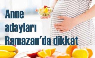 Hamilelere ve emziren annelere ramazanda sağlıklı beslenme önerileri